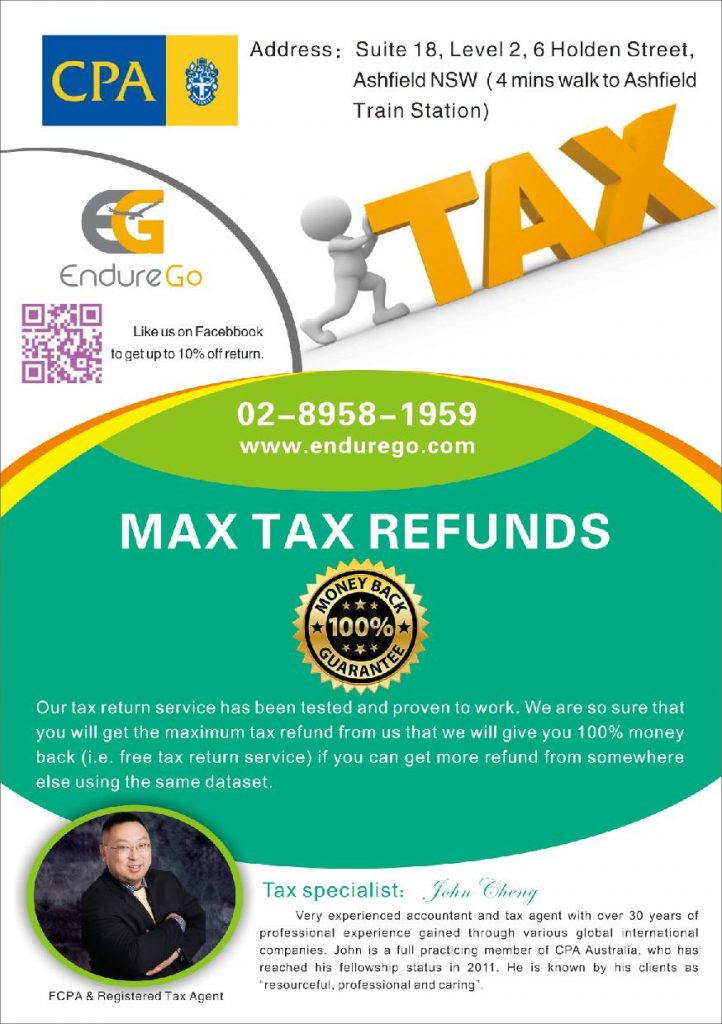 Max Tax Refund Sydney